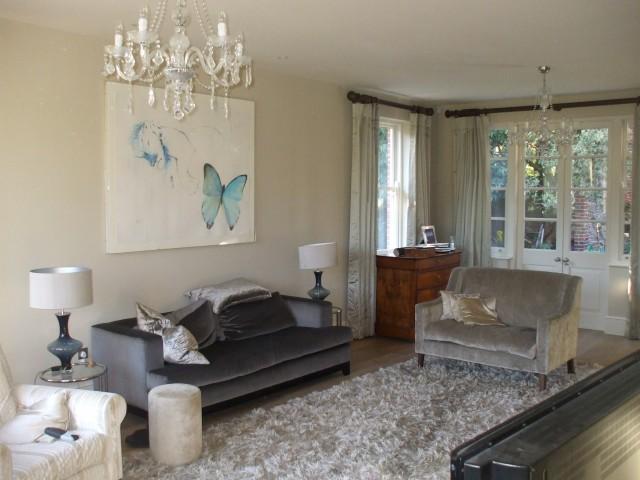 Living room illuminated